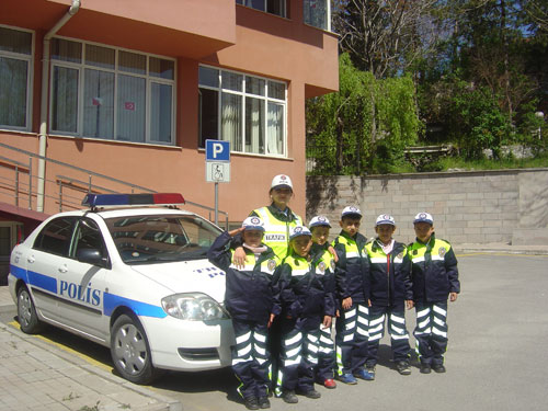 Trafik+polisi